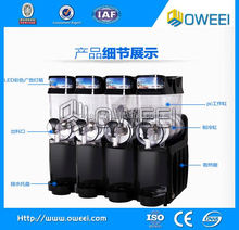 Factory 2 bowl cheap price commercial snow melting machine