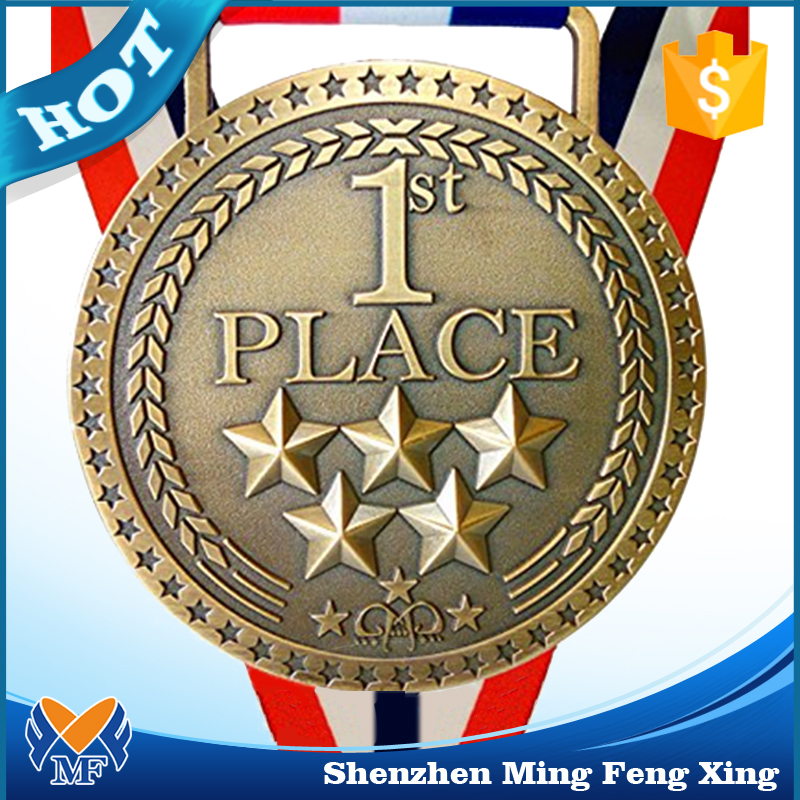 Good award medal for running sports medal with custom logo