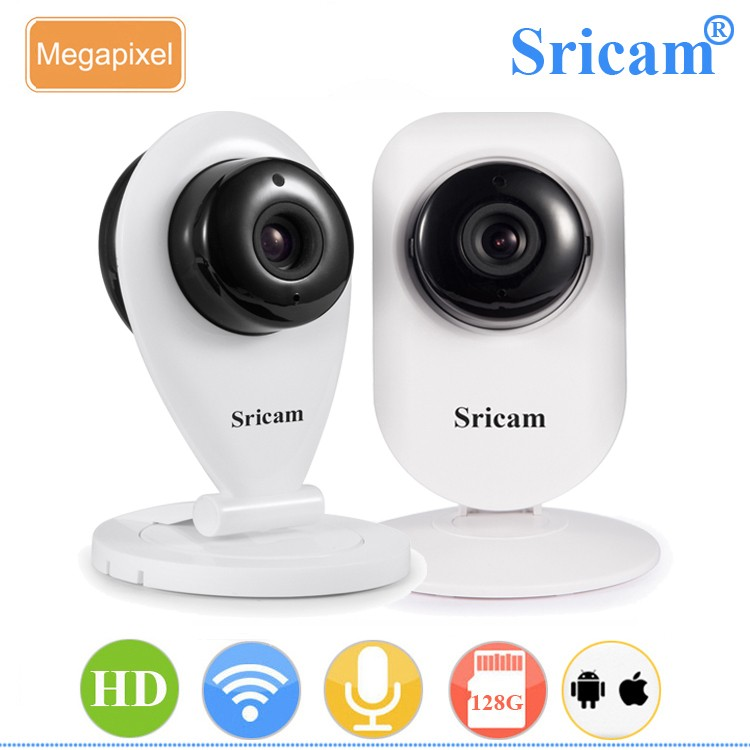 Sricam SP009B OEM/ODM Home Security Mini Baby IP Camera Indoor HD 720P Wireless WIFI WebCamera with 128G MicroSD Card recording