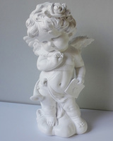 2016 hot sale new design large life size resin cupid figurine decoration wholesale