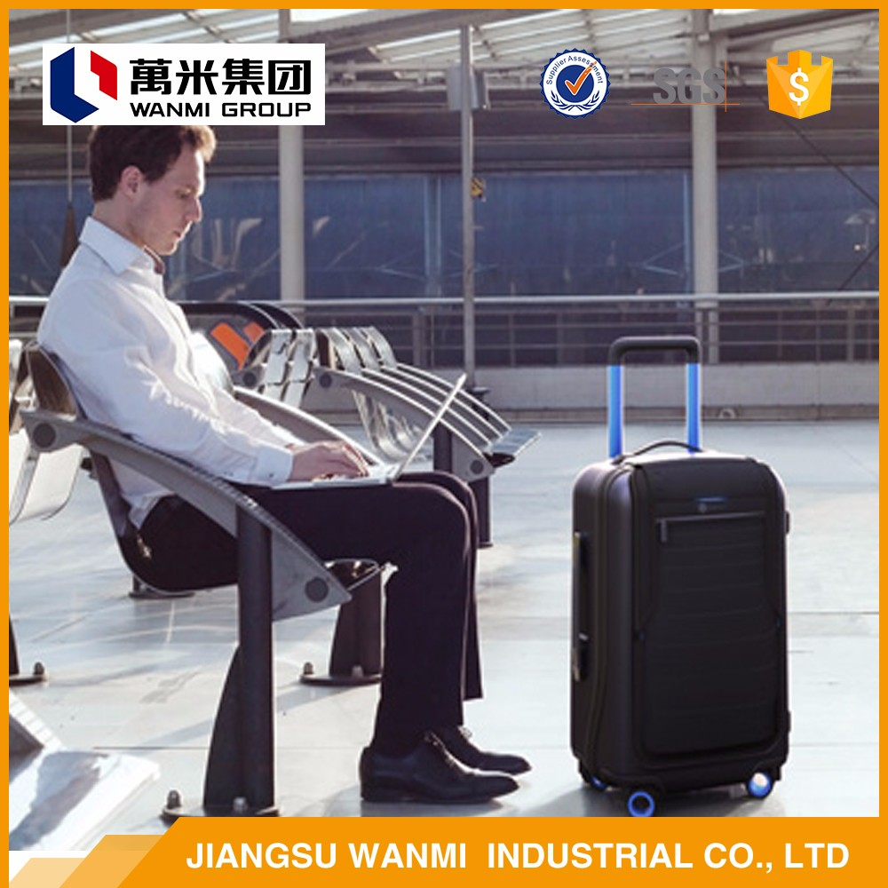 2017 newest style extensible travel luggage bag man trolley luggage
