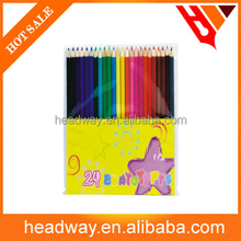 kids 24pcs colour drawing pencil set