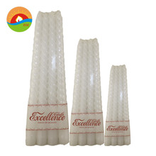 new artificial white candles/ wholesale candle in china / wedding decorative candle