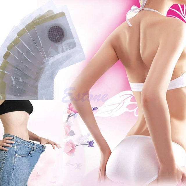 30pcs Magnetic Patch Diet Slim Slimming Weight Loss Adhesive Detox Burn Pads Fat