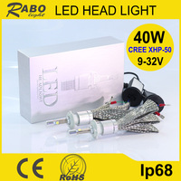 New arrival led motorcycle mh4 replace hid projector headlights