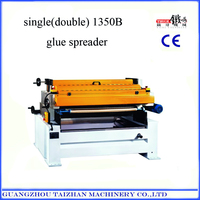 Automatic furniture decoration plywood glue spreader