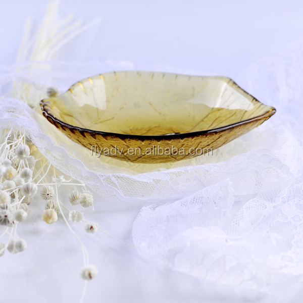 "The 5.3"" Small Colored Depression Glass Charger Plate;Cokkies Plate Starburst for Sugar and leaf Glass Dish for the home decorat"