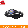 OEM design cheap price promotional silicone rubber sport bracelet wristband bangle supplier