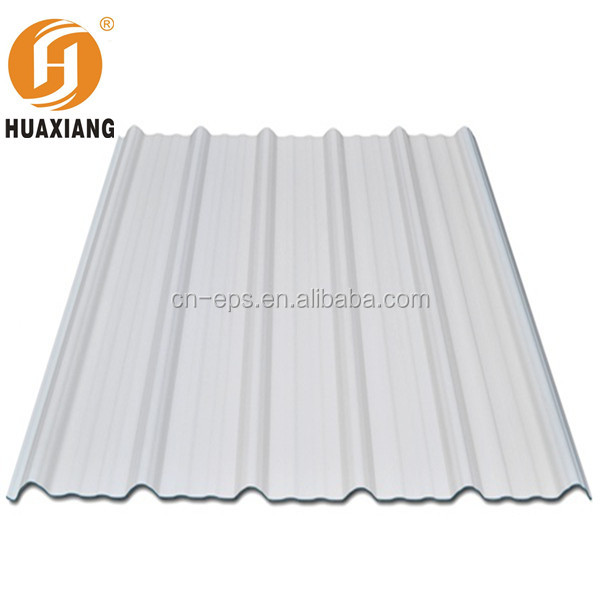 Anti UV Tile Roof UPVC Teja/Calcium Silicate Boards