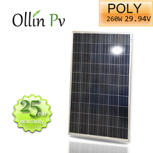 Brand of Ollin home diy kit High efficiency 260W Poly Solar Panel module system