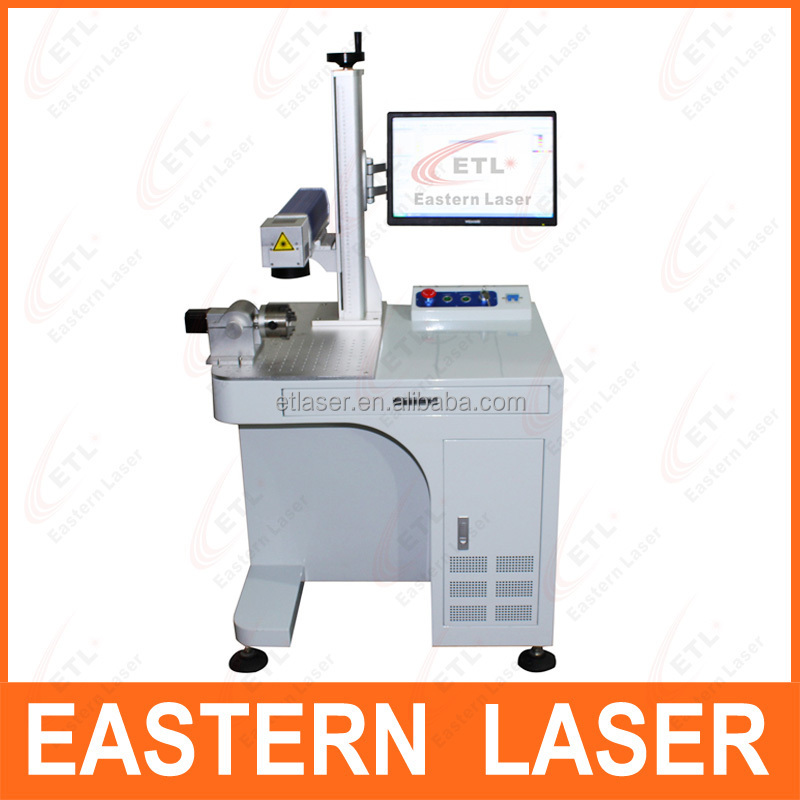 aluminium alloy/electronic components / stainless steel laser marking machine