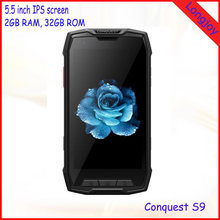 Best Quality 5.5 Inch Octa Core 2GB RAM 32GB ROM Waterproof Rugged Android 5.1 Smart Phone with NFC GPS