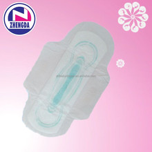 price cheap female waterproof breathable anion sanitary napkins / sanitary pads for women