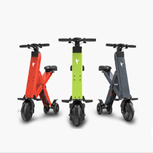 Wholesale portable electric power folding mobility scooter for adult green electric city bike