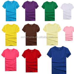 wholesale blank t shirt cotton material for men and women