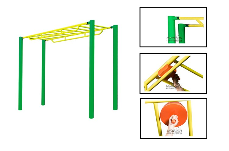 Gymnastic outdoor monkey Bar outdoor crossfit gym equipment