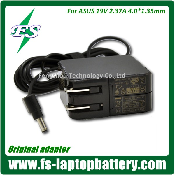19V 2.37A Laptop Power AC Adapter for ASUS ADP-45AW