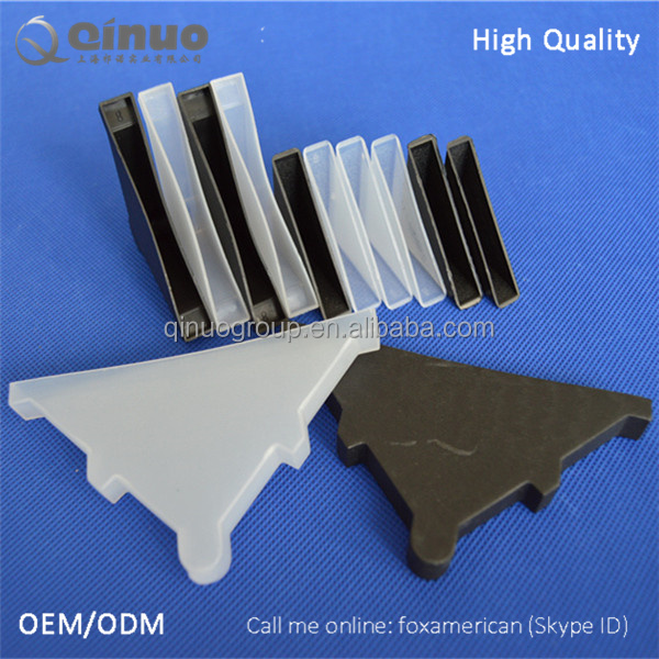 Mirror frame glass use 4mm plastic corner protectors