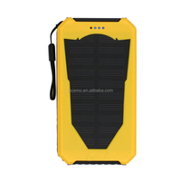 2015 new products portable solar phone charger solar power bank 7200mah powered power bank