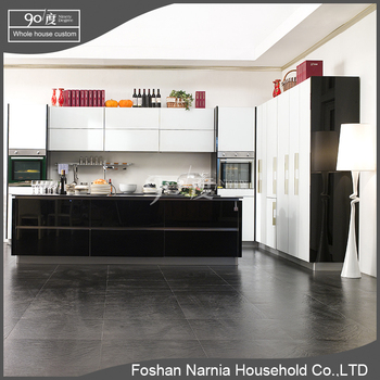 China factory direct sale ready made furniture wooden kitchen cabinet with doors