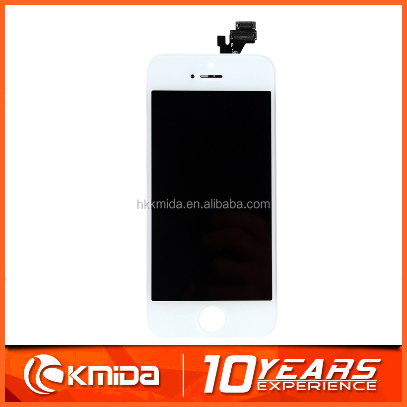KMIDA 2016 Hot sale Mobile Lcd for iphone 5 screen, phone lcd for iphone 5, cell phone lcd for iphone