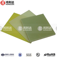 Composite laminate board of epoxy resin fiberglass