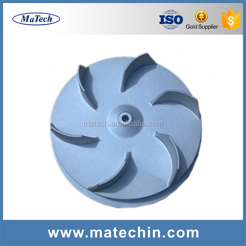OEM Stainless Steel Aluminum Impeller V Process Casting