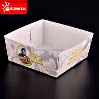 Wholesale disposable white food trays