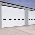 Factory Price Used For Workshop Insulated Sectional Industrial Door