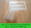 Glass Plastic Packaging Clamshell Locked Container Box