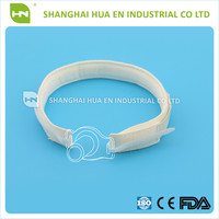 Disposable medical white color tracheostomy tube holder