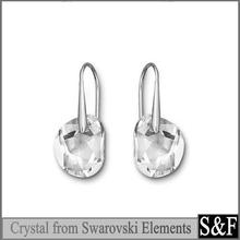 925 sterling silver earring crystal from swarovski