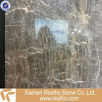 new product gold silk grey marble