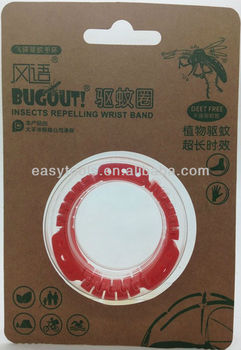 UFO mosquitos repellent bracelet with ECO-friend Packaing