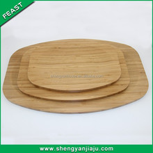 Wonderful custom fashion bamboo banquet serving tray