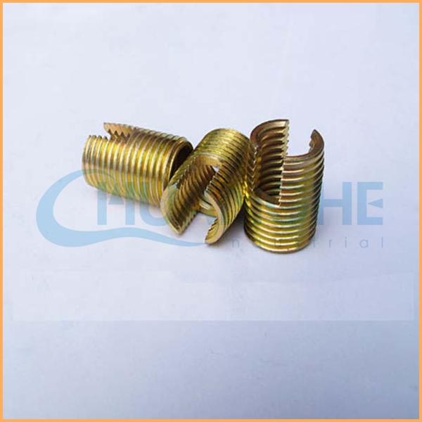 Factory price sales brass blind thread insert for plastic