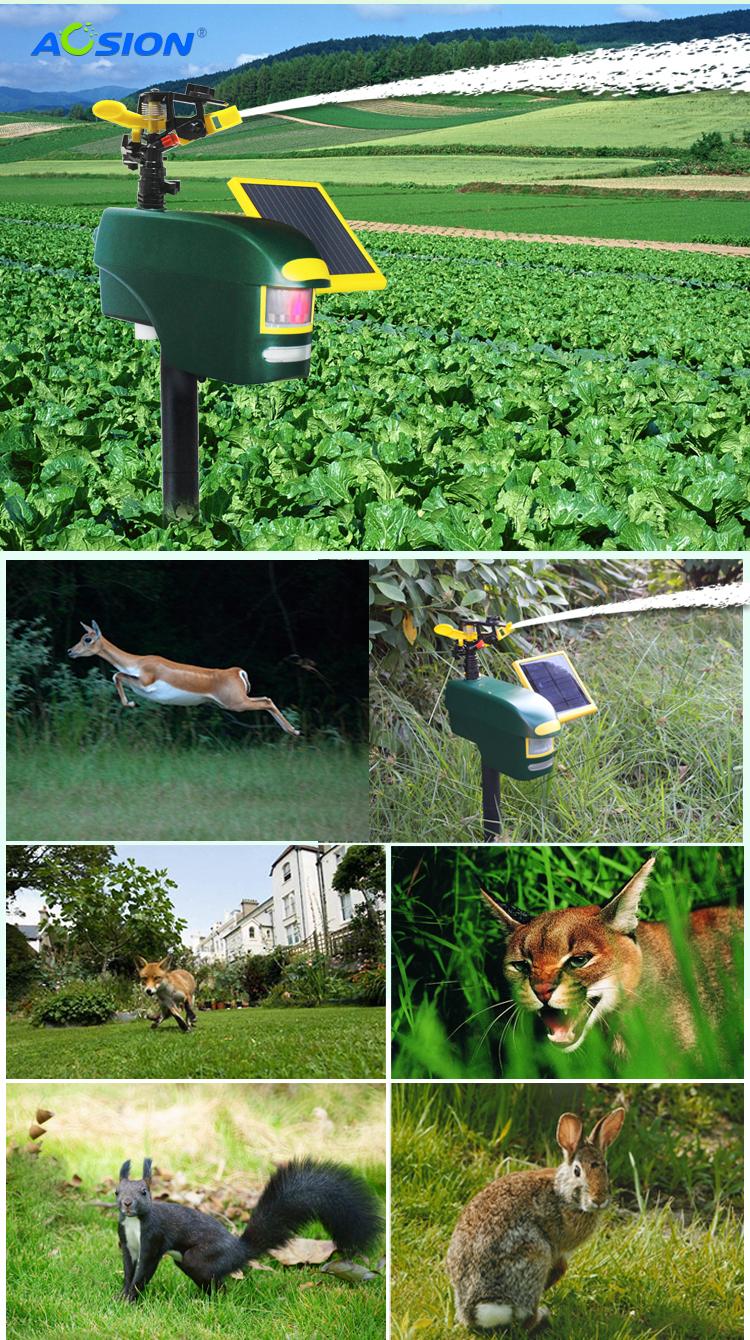 Garden Animal Deterrent Sprinklers Scarecrow Motion