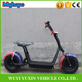 new product two big wheels citycoco 1000W 60V electric scooter electric motorcycle