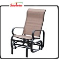 Single One Person Steel Swing Rocking Glider chair
