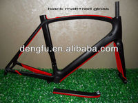 2013 new model full inside cable carbon road racing frame&fork&seatpost FM098