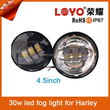 Cheap 4.6inch fog light motorcycl led headlight for Harley