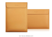 Real Leather Folio A4 Table Folder Document Organizer