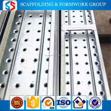 Tianjin SS Group Q195 steel punched scaffolding walking board for construction site