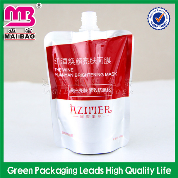 for grocery packaging reusable spout pouches bags for hair dye
