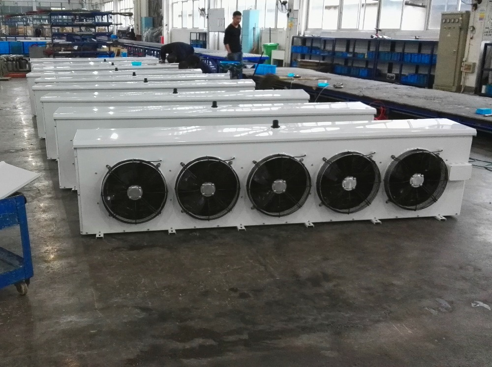 KAIDELI brand air cooled evaporator,evaporative air cooler,fin tube type heat exchanger for cold room use