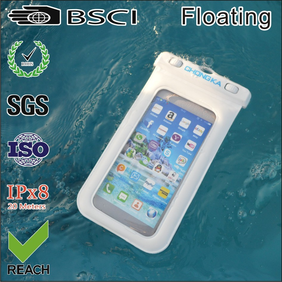 2016 new product pvc floating waterproof case for lg 170