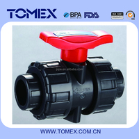 pressure relief valve true union ball valve pvc ball check valve with best quotation