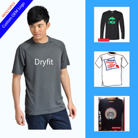 Wholesale Quick Dry Tshirt 100 Polyester