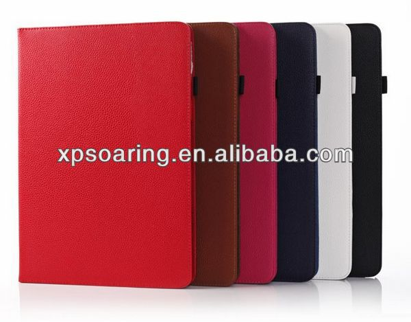 lychee style book leather case for Samsung Galaxy Note pro 12.2