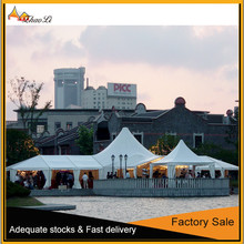New arrival multi-sided tent for wedding party without center pole